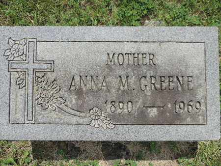 GREENE, ANNA M. - Franklin County, Ohio | ANNA M. GREENE - Ohio Gravestone Photos