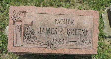 GREENE, JAMES P - Franklin County, Ohio | JAMES P GREENE - Ohio Gravestone Photos