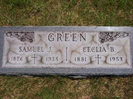 GREENE, SAMUEL J. - Franklin County, Ohio | SAMUEL J. GREENE - Ohio Gravestone Photos