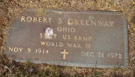 GREENWAY, ROBERT S. - MILITARY - Franklin County, Ohio | ROBERT S. - MILITARY GREENWAY - Ohio Gravestone Photos