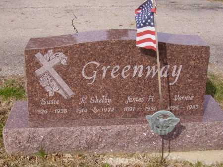GREENWAY, VERNIE - Franklin County, Ohio | VERNIE GREENWAY - Ohio Gravestone Photos