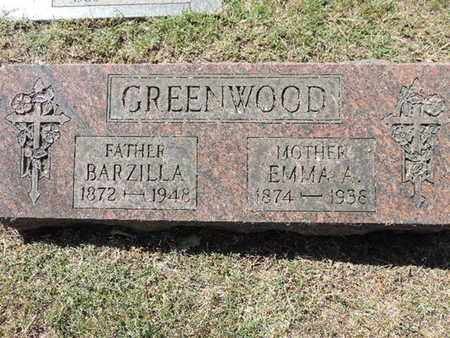 GREENWOOD, BARZILLA - Franklin County, Ohio | BARZILLA GREENWOOD - Ohio Gravestone Photos