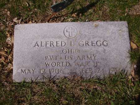 GREGG, ALFRED L. - Franklin County, Ohio | ALFRED L. GREGG - Ohio Gravestone Photos
