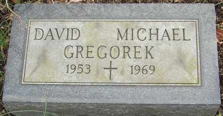 GREGOREK, DAVID MICHAEL - Franklin County, Ohio | DAVID MICHAEL GREGOREK - Ohio Gravestone Photos