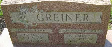 GREINER, EDNA J - Franklin County, Ohio | EDNA J GREINER - Ohio Gravestone Photos