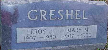 GRESHEL, MARY - Franklin County, Ohio | MARY GRESHEL - Ohio Gravestone Photos