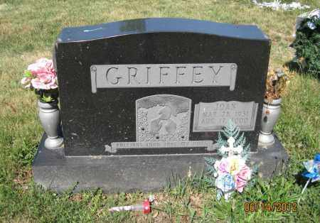 KINNEY GRIFFEY, JOAN - Franklin County, Ohio | JOAN KINNEY GRIFFEY - Ohio Gravestone Photos