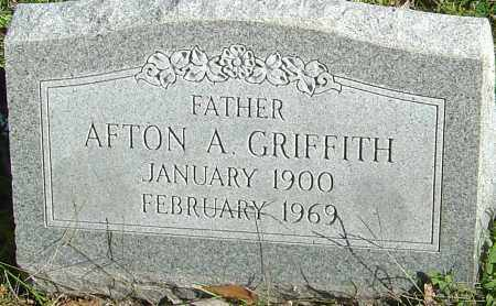 GRIFFITH, AFTON A - Franklin County, Ohio | AFTON A GRIFFITH - Ohio Gravestone Photos