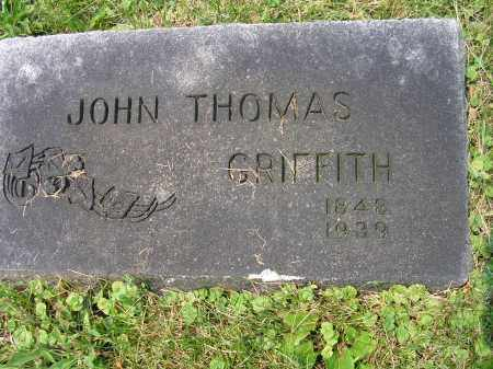 GRIFFITH, JOHN THOMAS - Franklin County, Ohio | JOHN THOMAS GRIFFITH - Ohio Gravestone Photos