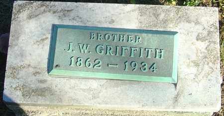 GRIFFITH, J W - Franklin County, Ohio | J W GRIFFITH - Ohio Gravestone Photos