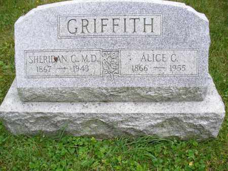 GRIFFITH, ALICE C. - Franklin County, Ohio | ALICE C. GRIFFITH - Ohio Gravestone Photos