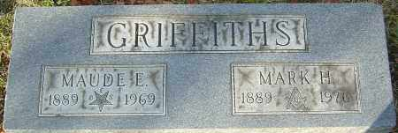 GRIFFITHS, MAUDE E - Franklin County, Ohio | MAUDE E GRIFFITHS - Ohio Gravestone Photos