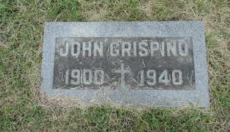 GRISPINO, JOHN - Franklin County, Ohio | JOHN GRISPINO - Ohio Gravestone Photos