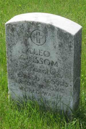 GRISSOM, CLEO - Franklin County, Ohio | CLEO GRISSOM - Ohio Gravestone Photos