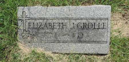GROLLE, ELIZABETH - Franklin County, Ohio | ELIZABETH GROLLE - Ohio Gravestone Photos