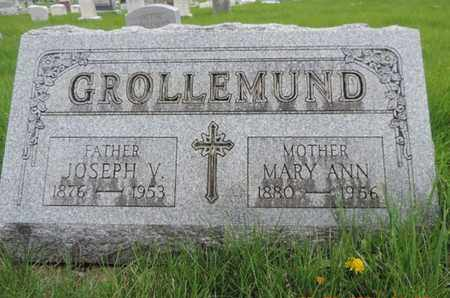 GROLLEMUND, MARY ANN - Franklin County, Ohio | MARY ANN GROLLEMUND - Ohio Gravestone Photos