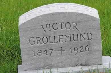 GROLLEMUND, VICTOR - Franklin County, Ohio | VICTOR GROLLEMUND - Ohio Gravestone Photos