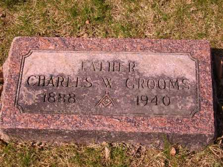 GROOMS, CHARLES E. - Franklin County, Ohio | CHARLES E. GROOMS - Ohio Gravestone Photos
