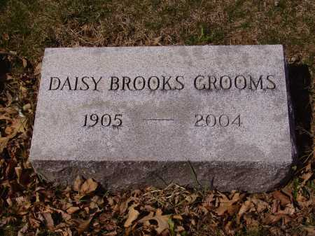 BROOKS GROOMS, DAISY - Franklin County, Ohio | DAISY BROOKS GROOMS - Ohio Gravestone Photos