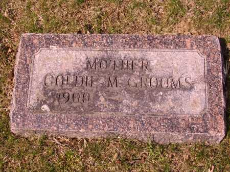 GROOMS, GOLDIE M. - Franklin County, Ohio | GOLDIE M. GROOMS - Ohio Gravestone Photos