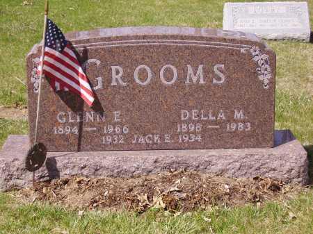 GROOMS, GLENN E. - Franklin County, Ohio | GLENN E. GROOMS - Ohio Gravestone Photos