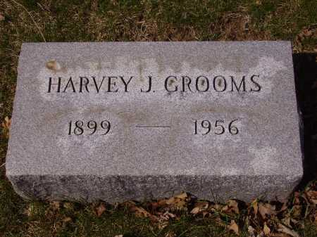 GROOMS, HARVEY J. - Franklin County, Ohio | HARVEY J. GROOMS - Ohio Gravestone Photos