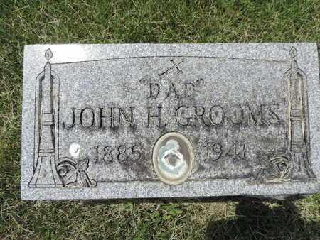 GROOMS, JOHN H. - Franklin County, Ohio | JOHN H. GROOMS - Ohio Gravestone Photos