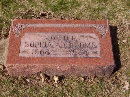 GROOMS, SOPHIA A. - Franklin County, Ohio | SOPHIA A. GROOMS - Ohio Gravestone Photos