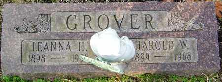 GROVER, HAROLD W - Franklin County, Ohio | HAROLD W GROVER - Ohio Gravestone Photos