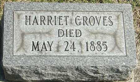GROVES, HARRIET - Franklin County, Ohio | HARRIET GROVES - Ohio Gravestone Photos