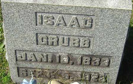 GRUBB, ISAAC - Franklin County, Ohio | ISAAC GRUBB - Ohio Gravestone Photos