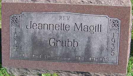GRUBB, JEANNETTE - Franklin County, Ohio | JEANNETTE GRUBB - Ohio Gravestone Photos