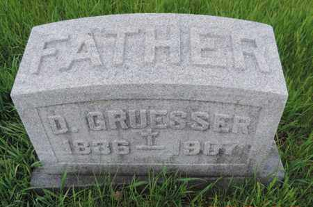 GRUESSER, D. - Franklin County, Ohio | D. GRUESSER - Ohio Gravestone Photos