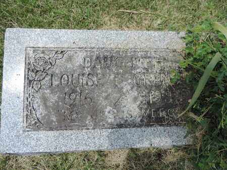 GRUNDEI, LOUISE C. - Franklin County, Ohio | LOUISE C. GRUNDEI - Ohio Gravestone Photos