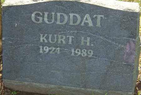 GUDDAT, KURT H - Franklin County, Ohio | KURT H GUDDAT - Ohio Gravestone Photos