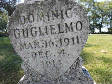GUGLIELMO, DOMINIC - Franklin County, Ohio | DOMINIC GUGLIELMO - Ohio Gravestone Photos