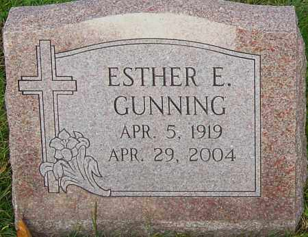 GUNNING, ESTHER - Franklin County, Ohio | ESTHER GUNNING - Ohio Gravestone Photos