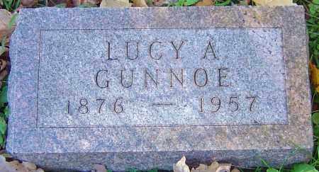 GUNNOE, LUCY ANN - Franklin County, Ohio | LUCY ANN GUNNOE - Ohio Gravestone Photos