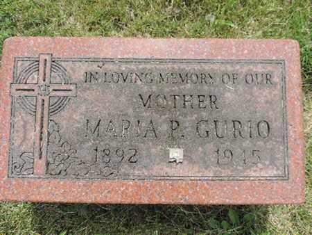 GURIO, MARIA P. - Franklin County, Ohio | MARIA P. GURIO - Ohio Gravestone Photos