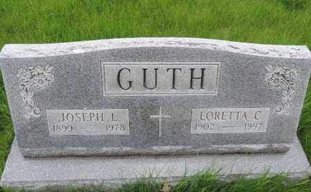 GUTH, LORETTA C - Franklin County, Ohio | LORETTA C GUTH - Ohio Gravestone Photos