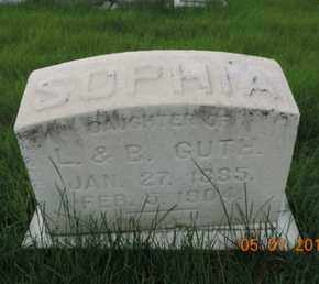 GUTH, SOPHIA - Franklin County, Ohio | SOPHIA GUTH - Ohio Gravestone Photos