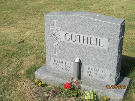 GUTHEIL, HELMUT H - Franklin County, Ohio | HELMUT H GUTHEIL - Ohio Gravestone Photos