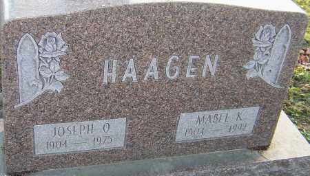 YEAGER HAAGEN, MABEL - Franklin County, Ohio | MABEL YEAGER HAAGEN - Ohio Gravestone Photos