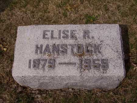 HABSTOCK, ELISE R. - Franklin County, Ohio | ELISE R. HABSTOCK - Ohio Gravestone Photos