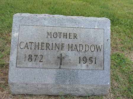 HADDOW, CATHERINE - Franklin County, Ohio | CATHERINE HADDOW - Ohio Gravestone Photos