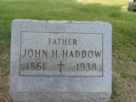 HADDOW, JOHN H. - Franklin County, Ohio | JOHN H. HADDOW - Ohio Gravestone Photos