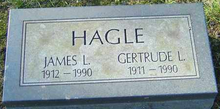 HAGLE, GERTRUDE L - Franklin County, Ohio | GERTRUDE L HAGLE - Ohio Gravestone Photos