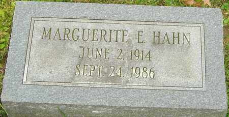 HAHN, MARGUERITE - Franklin County, Ohio | MARGUERITE HAHN - Ohio Gravestone Photos