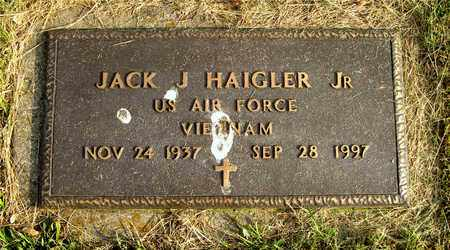 HAIGLER, JACK J. - Franklin County, Ohio | JACK J. HAIGLER - Ohio Gravestone Photos