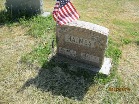 "HAINES, JAMES ""JIMMIE"" A - Franklin County, Ohio 